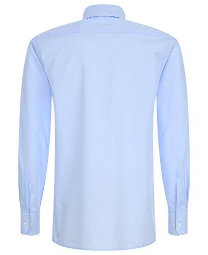ETERNA Herrenhemd Modern Fit, hellblau + 1 Paar hochwertige Socken, Bundle Hellblau
