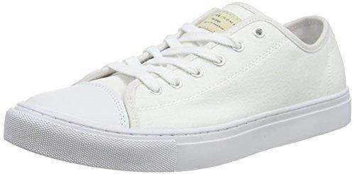 Selected Jean Sneakers da Uomo, Colore Bianco (White), Taglia 10 UK (44 EU)