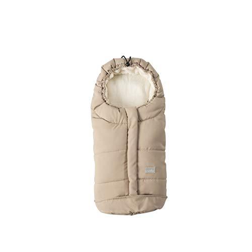 Nuvita 9045 ovetto city - sacco termico universale per tutti i tipi di ovetto, navicelle e seggiolini auto. ideale per neonati, bimbi e bambini (nature - beige)