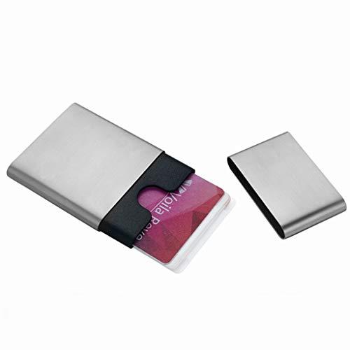 Visitenkartenbücher & -karteien Card Case Card Box Gratis-Visitenkarten-Etui Herren-Business-Mode-Kreativ-Karten-Etui Einfacher Edelstahl-Visitenkartenetui Kundengerechter Kartenetui Visitenkartenbüch