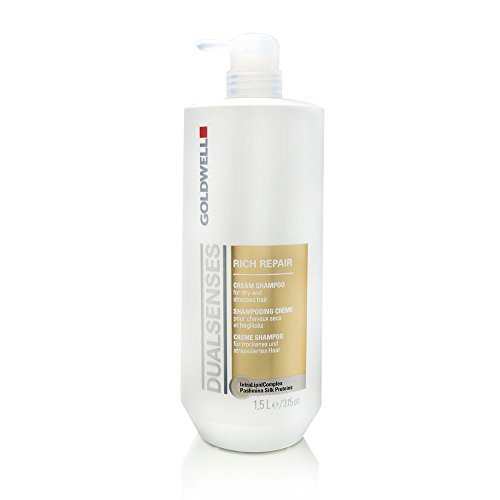 Goldwell Dual Senses Rich Repair Cream Shampoo 50.7 oz (1.5 Liters) by Goldwell