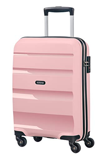 American Tourister Bon Air, Spinner Small Strict Bagaglio a Mano, 55 cm, 31.5 liters, Rosa (Cherry Blossoms)