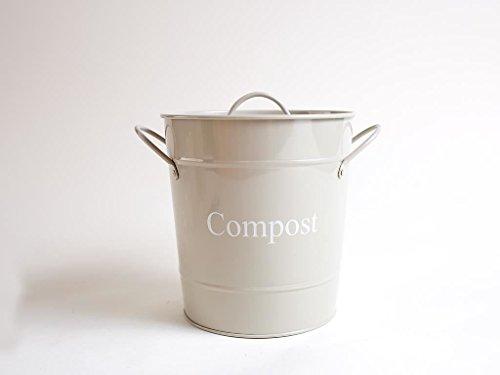Kompost Dose in Hurst Pebble von Dill und Minze