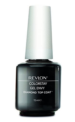Revlon Nail Gel Envy Top Coat Diamond Gel, 15 ml (15a Lampe)