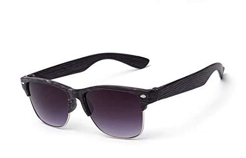 DAIYSNAFDN Mode Vintage Sonnenbrille männer Frauen Sport Brillen holzmaserung Sonnenbrille Brille 3