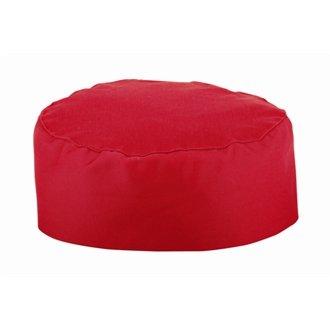 Whites Chefs Apparel Leinwandbild/rot Köche Schädelkappe Polycotton, eine Größe passend für alle