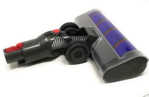 Brosse turbo électrique avec contrôle et Navi+ compatible avec les aspirateurs Dyson V7, V8, V10,...