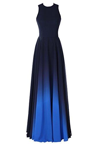 Promgirl House - Robe - Trapèze - Femme Bleu - Royalblau B