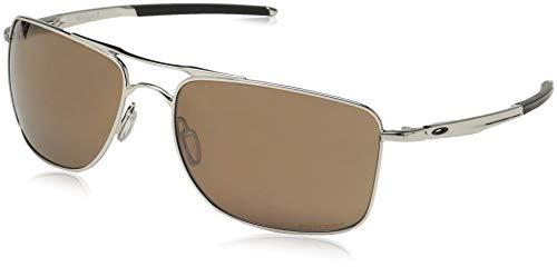 Oakley Manometer 8 Chrom poliert Prizm Tungsten Polarisierte Sonnenbrillen