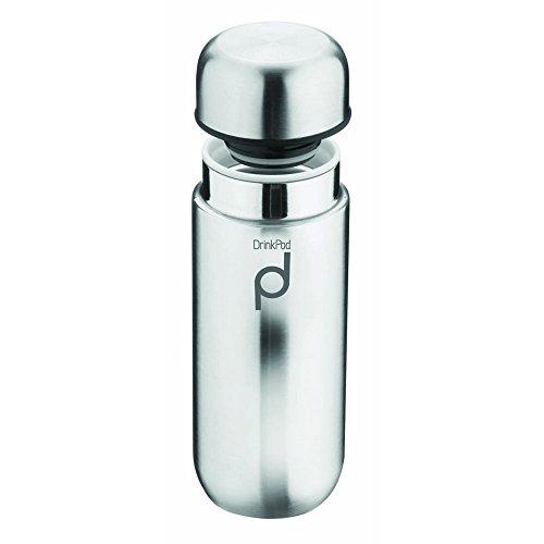 lierflasche aus Edelstahl 0,2 L Doppelwandig Thermo-Lebensmittelbehälter 6 Stunden Heiß 24 Stunden Kühl Auslaufsicher BPA-Frei - Hochglanz ()