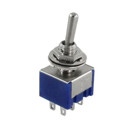 5pièces 3Position 2P2T DPDT ON-OFF-ON miniature Mini interrupteur à
