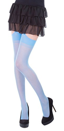 Plain Top Sheer Stockings by Romartex ,Regular Size & Plus Size,Various Colours Test