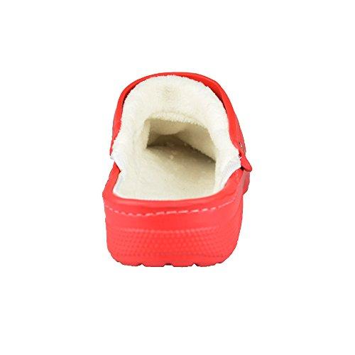BTS enfant-sabots très confortable et chaude, intérieur avec doublure et au niveau du talon, taille 30–35 Gris - Gris