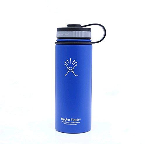 Nahrungsmittelgrad-silikon-spray (AISHUAIGE Rostfreier Stahl 304 Spray-Thermos-Schale im Freien beweglicher Raum-Sport-Bergsteigen-Kessel, Blue)