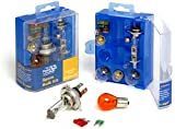 UNIVERSAL SPARE BULB KIT INCLUDING H1 H4 H7 BULBS & FUSES