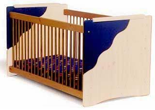 Babybett Kinderbett 70x140 cm nach EN 716-1 - umbaubar zum Kindersofa