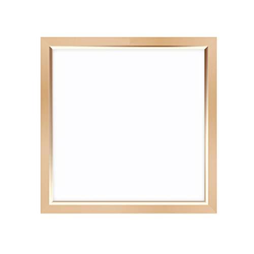 WM Home Led Flat Panel Light Integrierte Decke Aluminium Buckle Panel Küche Bad Deckeneinbau (Color : Gold-A) - Flat-panel-monitore