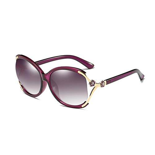 WZYMNTYJ Mode Schmetterling Blume Sonnenbrille polarisierte uv400 Sonnenbrille für Frauen markendesigner Brille Shades