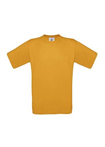 3er-Pack T-Shirt Exact 190 Herrenshirt kurzarm 3 T-Shirts Shirts B&C BCTU004 Apricot