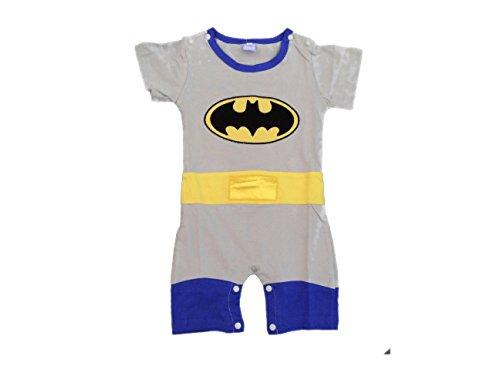 Batman-Body para bebés (tallas-edad 9-12meses