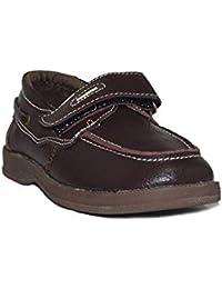 Deb&Dan - Zapato Mocasín T2375 Zapatos De Vestir Niño Marrón Casual Cómodos