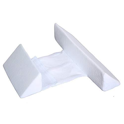 Almohadas de terciopelo para bebés DWTTW Almohadas para dormir laterales Colocación de...