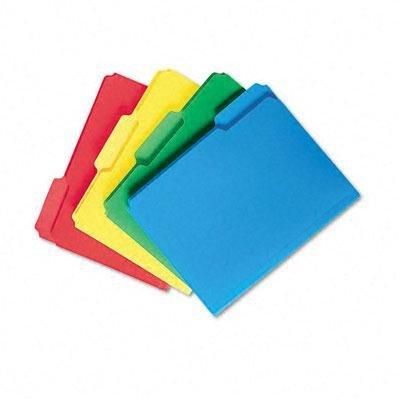 SMEAD–Inn Dura Datei Ordner, 22,9cm Hohe Vorder-, Buchstabe Größe, Grün, 1Box verkauft, SMD 10502 (Dura Insert)