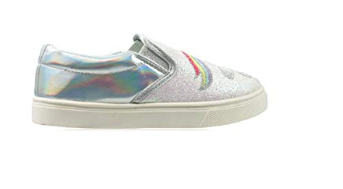 GladRags Girls Glitter Slip On/Lace Up Trainers Pumps UK Sizes Child 8 9 10 11 12 13 1 2 3 4 5 Infant Junior Unicorn