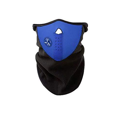 carol -1 Sturmhaube Balaclava Sturmmaske, Motorradmaske Skimaske - Idealer Kopfschutz, Nackenschutz, Gesichtsschutz für Ski und Wintersport, Fleece Kälteschutz Gesichtsmaske Halswärmer Gesichtswärmer