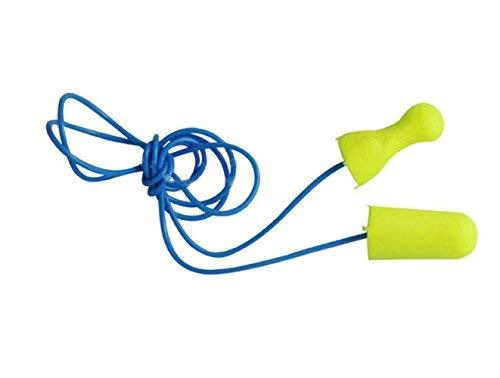 3 Paar gelb Schaumstoff & Gelschnur Schnur Schwimmen oder Schlafen Ohrstöpsel Weiche flexible Silikon wasserdicht Ohrenstöpsel Schwimmer Badehose