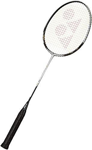 YONEX Carbonex 6000 Ex Strung Badminton Racquet   Silver/Black , G4 , 90 94.9 grams , 20 lbs