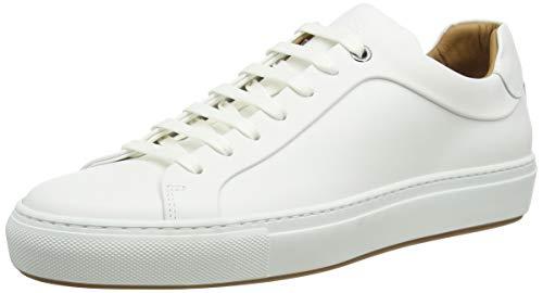 BOSS Herren Mirage_Tenn_bu Sneaker, Weiß (White 100), 43 EU
