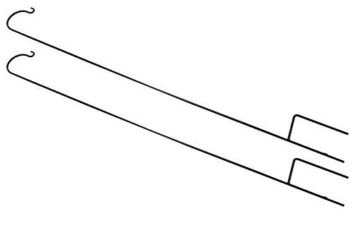Set 2 x Gardman Schaeferstock gebogenen Haken - 2,18/m