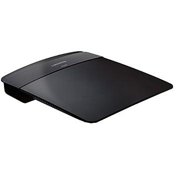Linksys FBA_E1200-AP Wireless-N Router (Black)