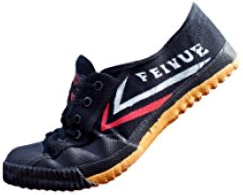 Feiyue - Zapatillas de artes marciales para hombre negro negro  -