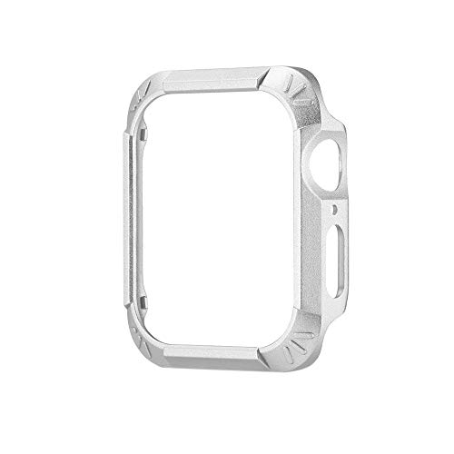 Yallylunn Smart Watch Pu + TPU Etui Rundumschutz Kratzschutz Apple Watch Serie 40Mm Tria-serie