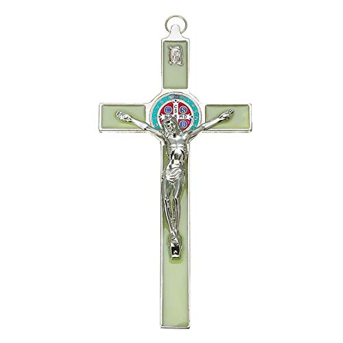 "YUNGYE 7""antike Grüne Kirche Relikte Kruzifix Jesus Auf Dem Stand Kreuz Wand Kruzifix Home Kapelle Dekoration Wand Kreuze 3 Bestellungen"