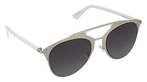 Dior Damen DIORREFLECTED HD 85L Sonnenbrille, Weiß (Pallad White/Grey Sf), 52