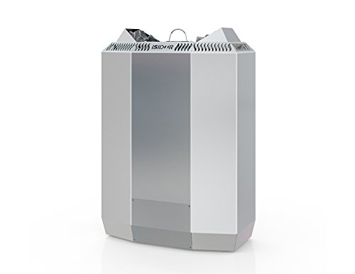 ISIDOR Premium Gartensauna Vapor Bio Elektro- Saunaofen Kaisa mit 8 kW Heizleistung; 4,1m² großem Saunaraum inkl. Sauna-Innenausstattung auf Insgesamt 12,6m² Gebäudefläche