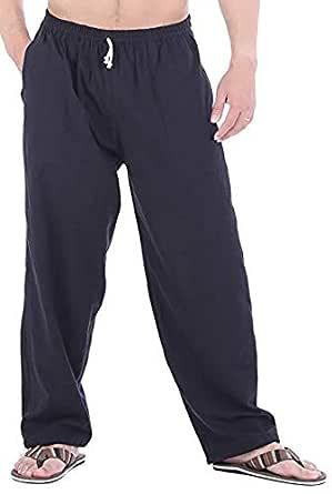Whitewhale Men's Loose Fit Harem Yoga Pants