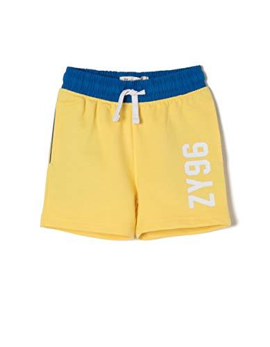 ZIPPY Ztb0406_455_4, Pantalon De Sport Bébé garçon, Jaune (Aspen Gold 1662), 98 (Taille Fabricant: 24/36M)