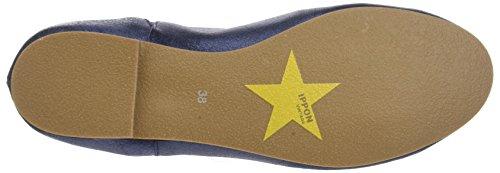 Ippon Vintage Damen Easy-Chic Chelsea Boots Blau (Marineblau)