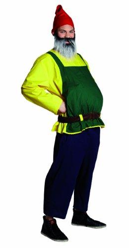 Herren Kostüm Gartenzwerg Zwerg verkleiden Karneval Fasching