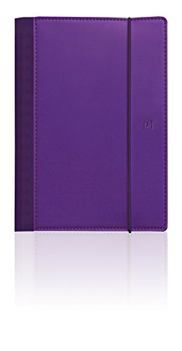 Oxford My'fab Calendar Diary 2Pages per Week Year 2017purple may not be in English 15x21cm