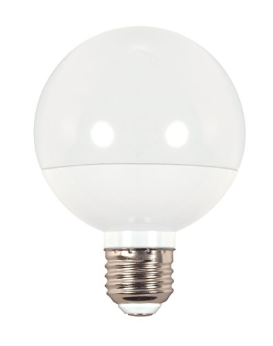 Satco s9201G25Globe LED 3000K medium Base Leuchtmittel, 6W (Philips Medium Led Base)