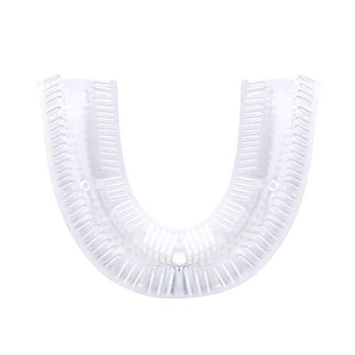 U-förmiger Silikon-Zahnbürstenkopf Wiederverwendbares Zubehör für elektrische Zahnbürsten