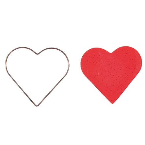 Drahtformen für Schmelzolan, Herz, ca. 140 mm [Spielzeug]