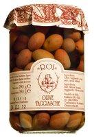 Olio Roi Olive taggiasche in salamoia / Taggiasca-Oliven in Salzlake 290 gr. /ATG 190 gr.