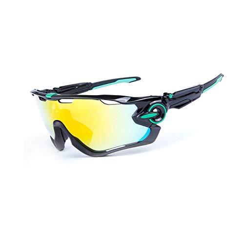 Amody Brille Herren Fahrrad Reitbrille Draussen Sports Fahrrad Reiten Sonnenbrille Stil K
