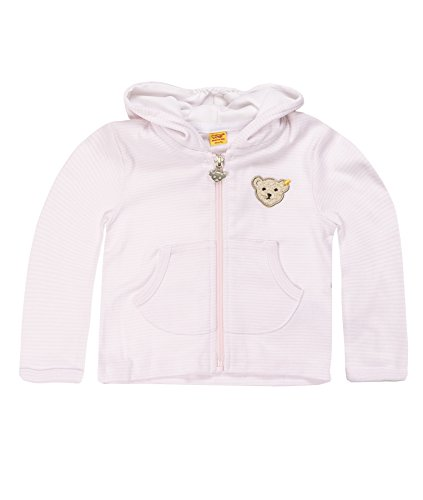 Steiff Unisex - Baby Sweatshirt, Rosa (Barely Pink 2560), 80 (Monate: 12) -